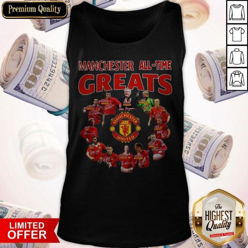 Manchester All Time Greats Signatures Tank Top