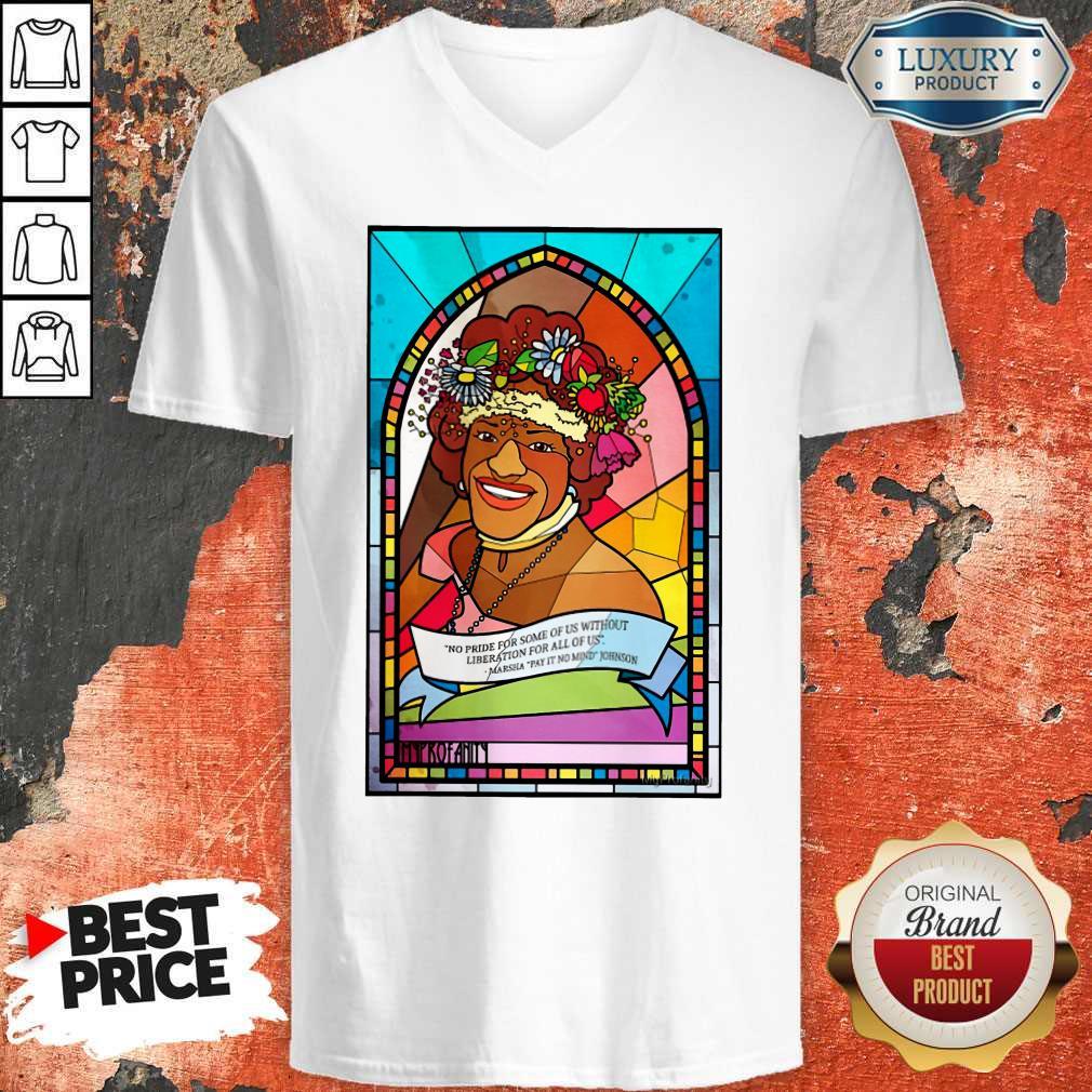 Marsha P Johnson Pride Month T-Shirt Classic T-V-neck