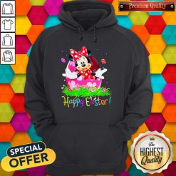 Minnie Mouse Easter Egg Happy Easter Hoodie