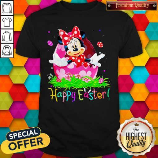 Minnie Mouse Easter Egg Happy Easter Shirt