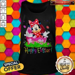 Minnie Mouse Easter Egg Happy Easter Tank Top