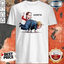 Nice Greta Thunberg Donald Trump Shirt