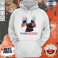 Official Baby Yoda America Hoodie