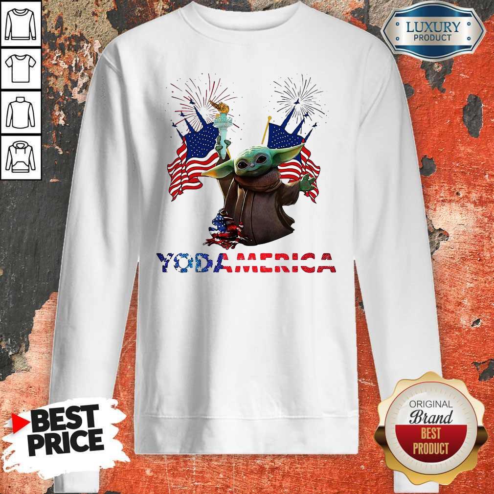 Official Baby Yoda America Sweatshirt