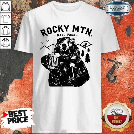 Official Bear Rocky MTN Natl Park Shirt