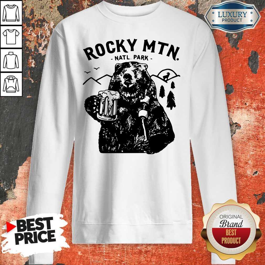 Official Bear Rocky MTN Natl Park Sweatshirt