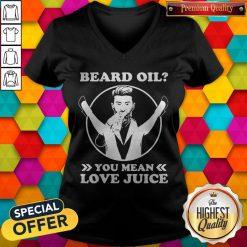 Official Beard Oil You Mean Love Juice V-neck