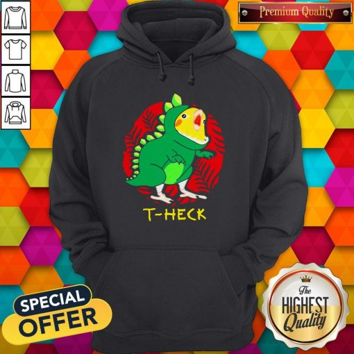 Official Cockatiel Dragon T-heck Hoodie