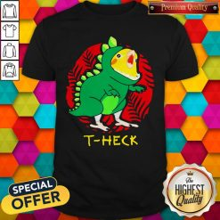 Official Cockatiel Dragon T-heck Shirt
