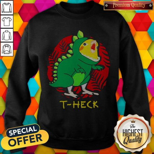 Official Cockatiel Dragon T-heck Sweatshirt
