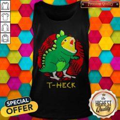 Official Cockatiel Dragon T-heck Tank Top