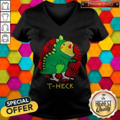 Official Cockatiel Dragon T-heck V-neck