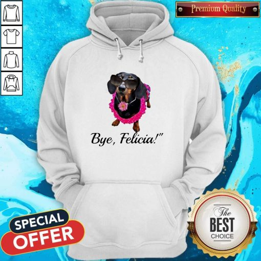 Official Dachshunds Bye Felicia Hoodie