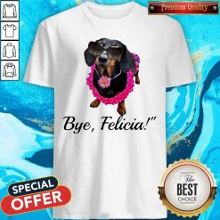 Official Dachshunds Bye Felicia Shirt