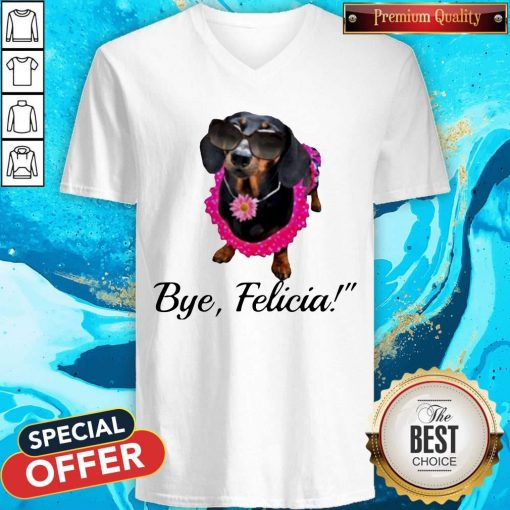 Official Dachshunds Bye Felicia V-neck