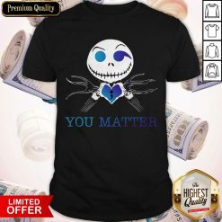 Official Jack Skellington You Matter Shirt