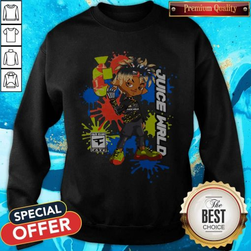 Official Juice WRLD X FaZe Clan Sweatshirt