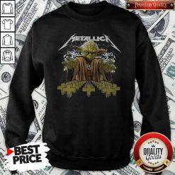 Official Metallica Master Yoda Sweartshirt