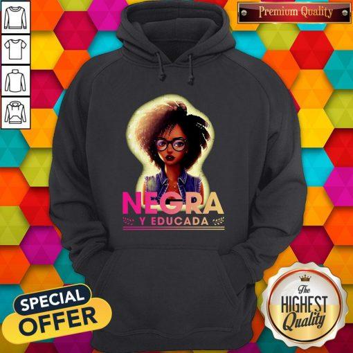 Official Negra Y Educada Hoodie