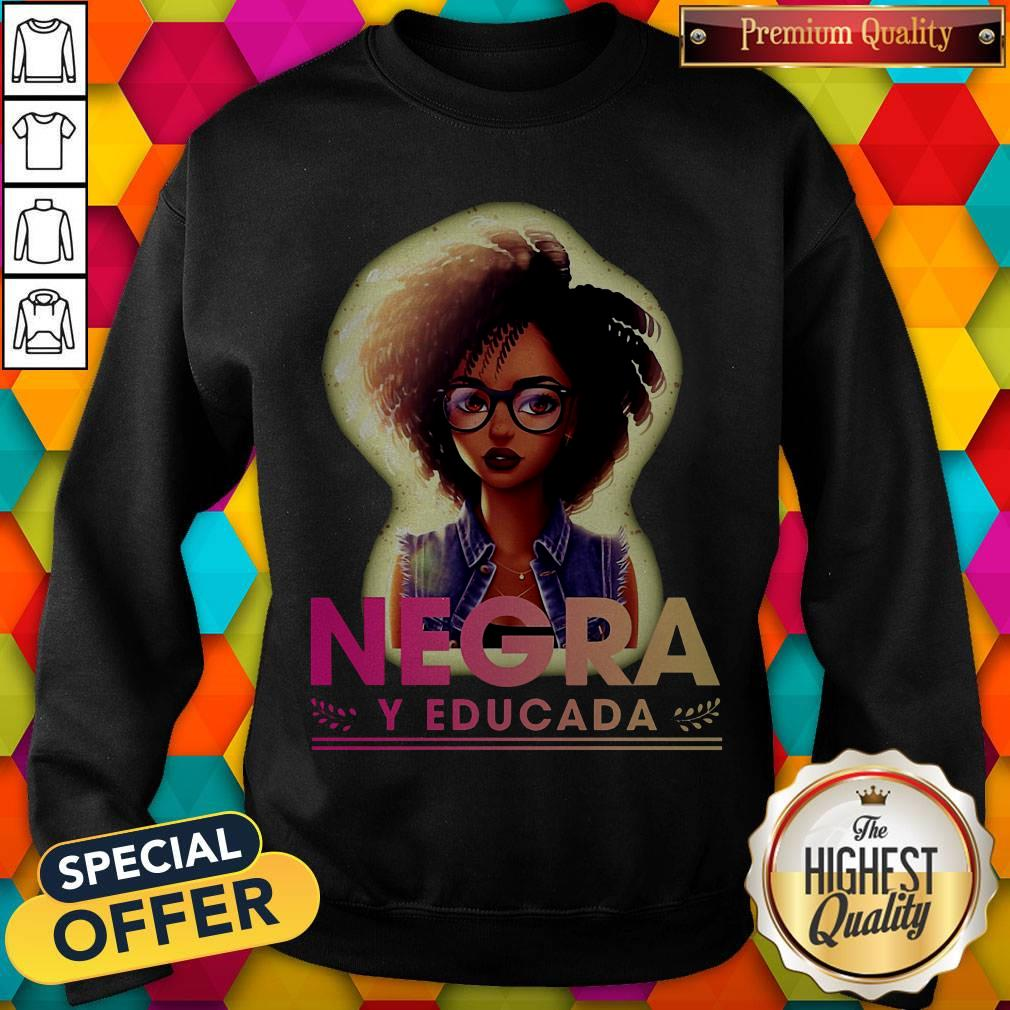 Official Negra Y Educada Sweatshirt