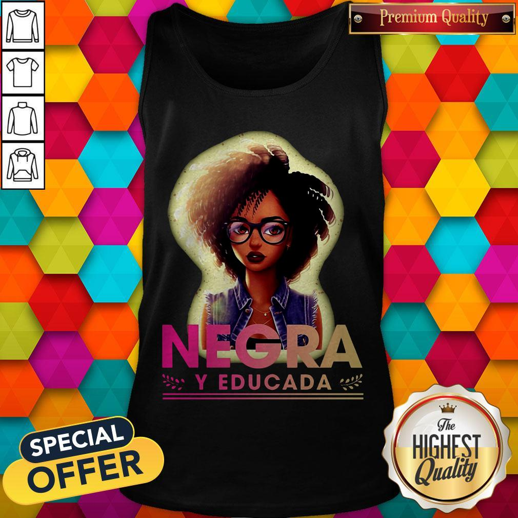Official Negra Y Educada Tank Top