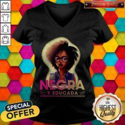 Official Negra Y Educada V-neck