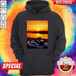 Official Sunset Sport Shoes Picture Hoodie