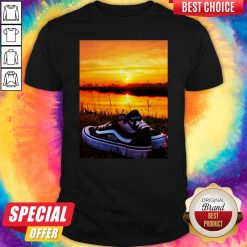 Official Sunset Sport Shoes Picture Shirt