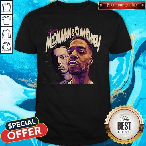 Official The Adventures Of Moonman And Slim Shady Shirt