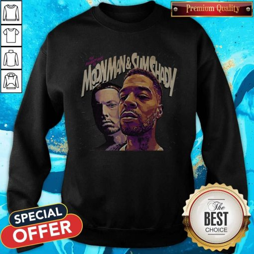 Official The Adventures Of Moonman And Slim Shady Sweatshirt