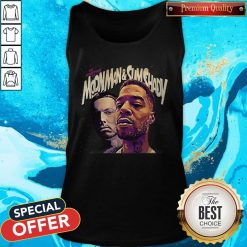 Official The Adventures Of Moonman And Slim Shady Tank Top