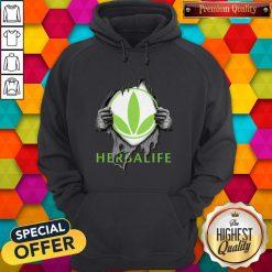 Oficial Blood Inside Me Herbalife Hoodie