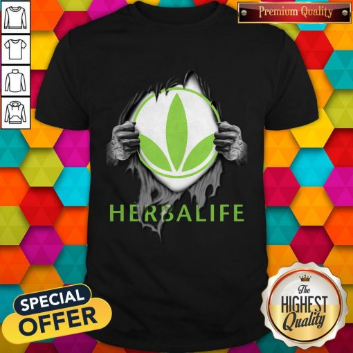 Oficial Blood Inside Me Herbalife Shirt