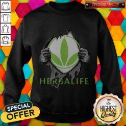 Oficial Blood Inside Me Herbalife Sweatshirt