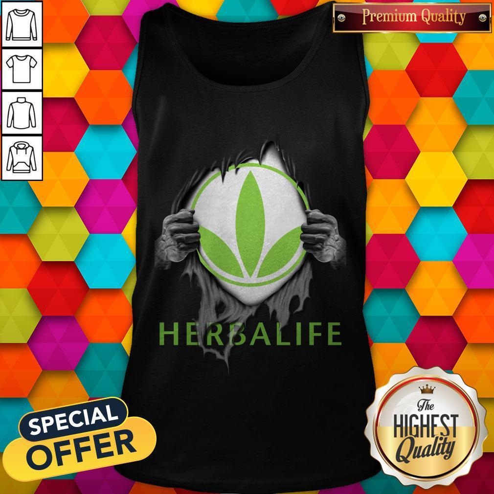 Oficial Blood Inside Me Herbalife Tank Top