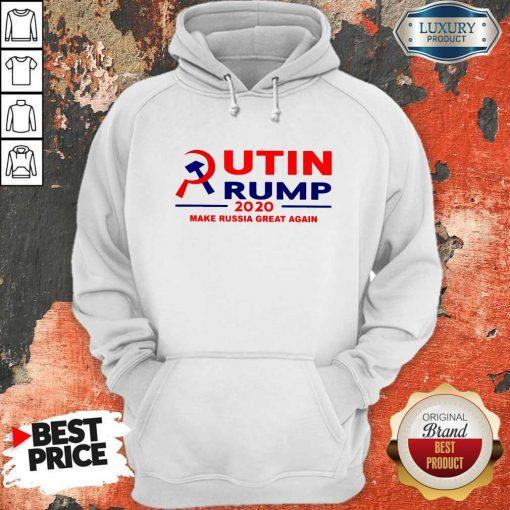 Putin Trump 2020 Make Russia Great Again Trump Classic T-Hoodie