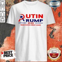 Putin Trump 2020 Make Russia Great Again Trump Classic T-Shirt