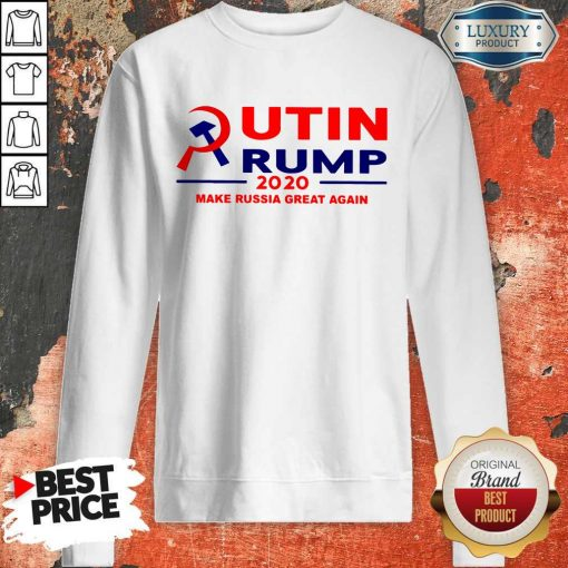 Putin Trump 2020 Make Russia Great Again Trump Classic T-Sweatshirt