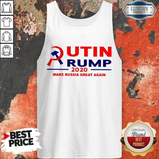 Putin Trump 2020 Make Russia Great Again Trump Classic T-Tank Top