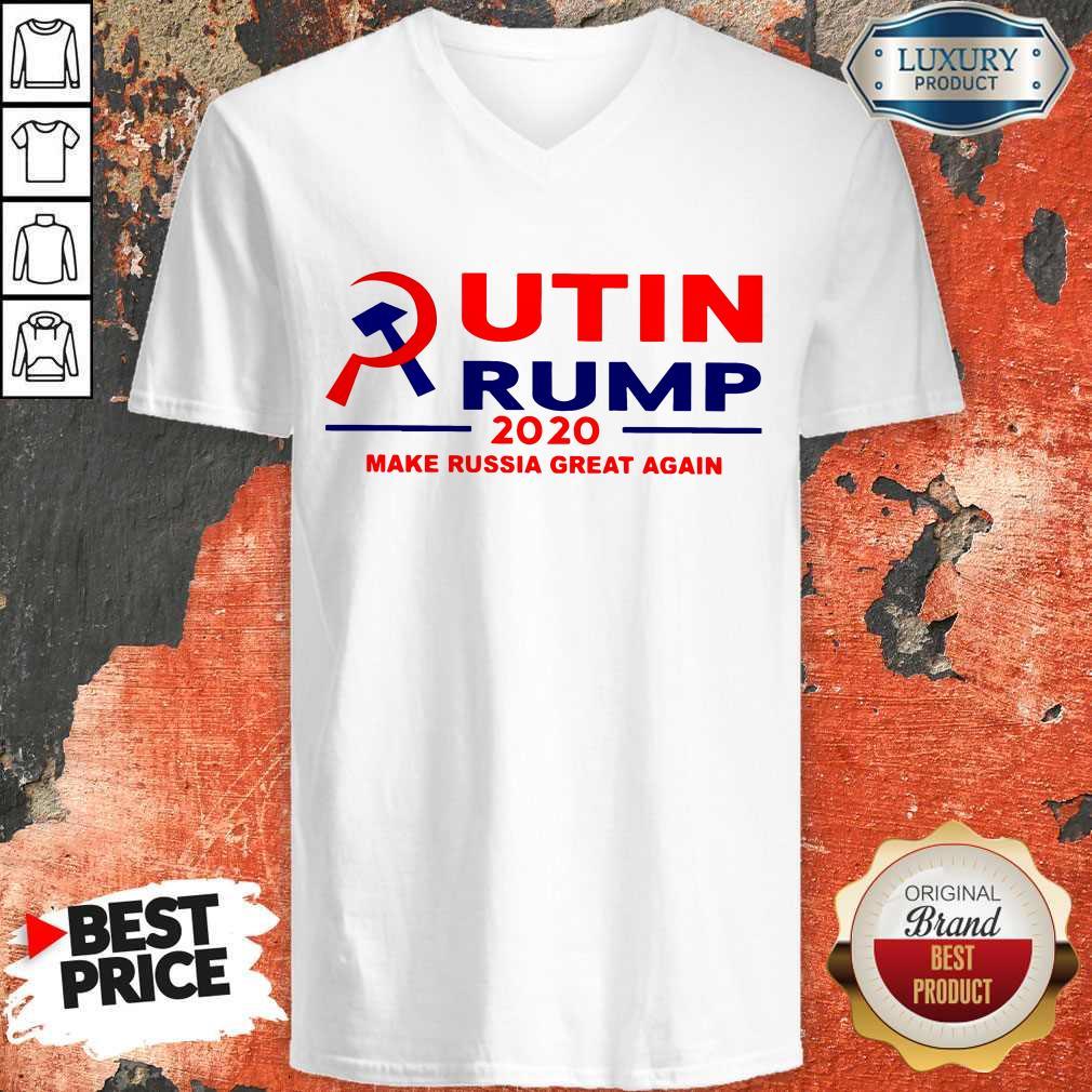 Putin Trump 2020 Make Russia Great Again Trump Classic T-V-neck