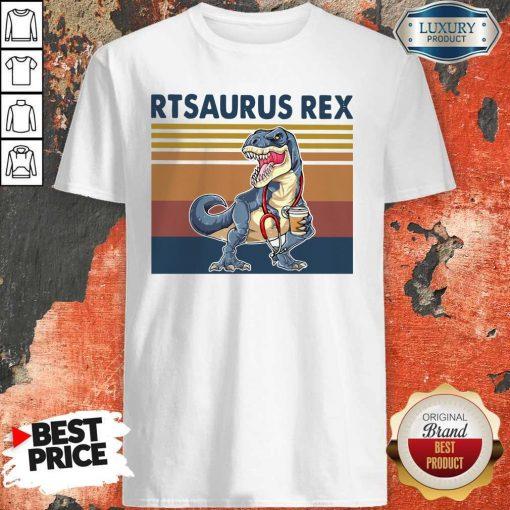 Respiratory Therapist Rtsaurus Rex Vintage Shirt
