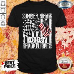 Summer Nights Dirt Track Light Shirt