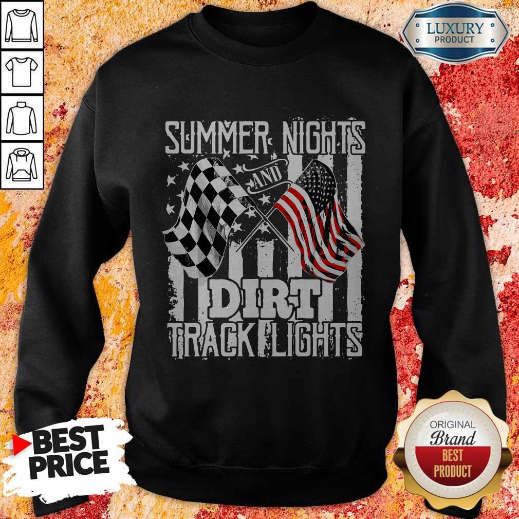 Summer Nights Dirt Track Light Sweatshirt