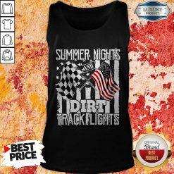 Summer Nights Dirt Track Light Tank Top
