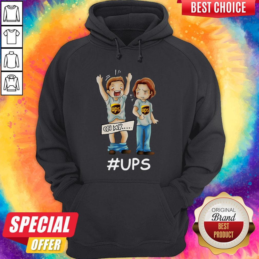 Supernatural Dean Winchester Oh My Ups Hoodie