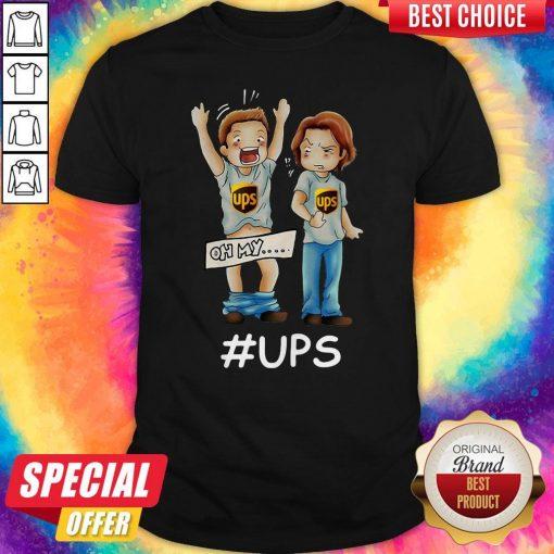 Supernatural Dean Winchester Oh My Ups Shirt
