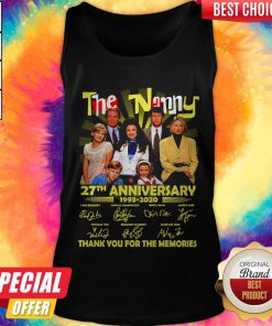 The Nanny 27th Anniversary 1993 2020 Thank You For The Memories Signatures Tank Top