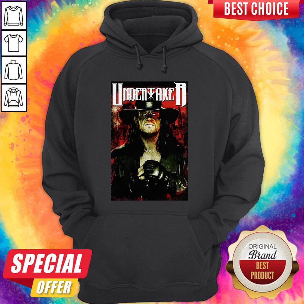 Undertaker Professional Wrestler Horror Hoodie