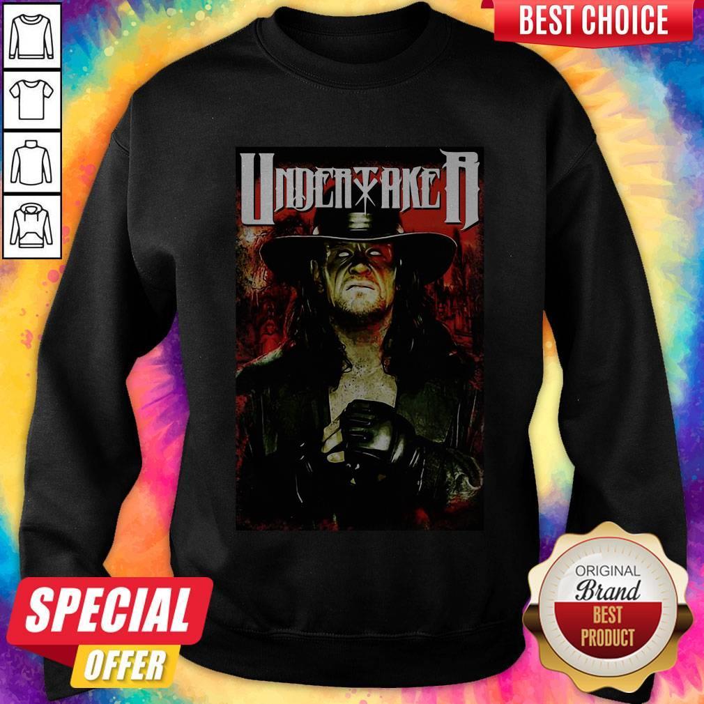 Undertaker Professional Wrestler Horror Sweatshirt