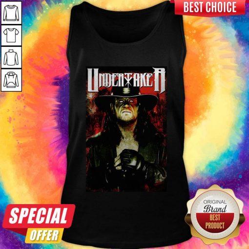 Undertaker Professional Wrestler Horror Tank Top